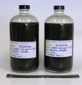 Megantic oil samples 2