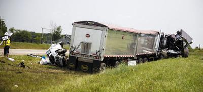 LCV Wreck
