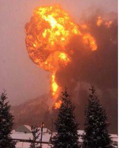 CBR CSX Explosion