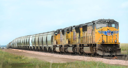 UP Frac Sand Train