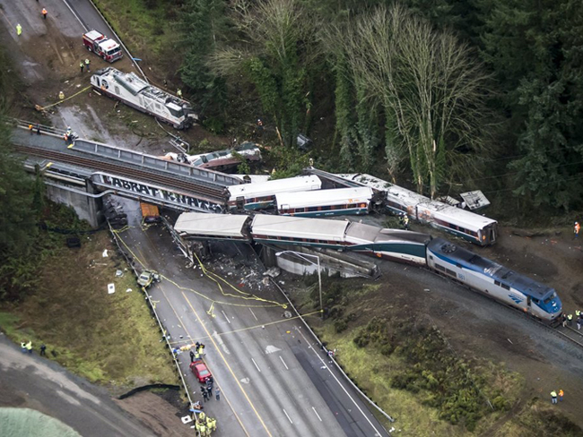 Amtrak 501 Wreck