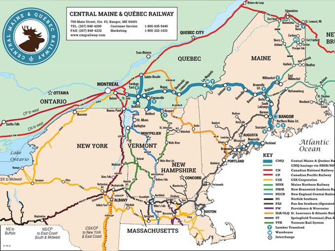 map of quebec and maine Map Of Maine And Canada Border map of quebec and maine