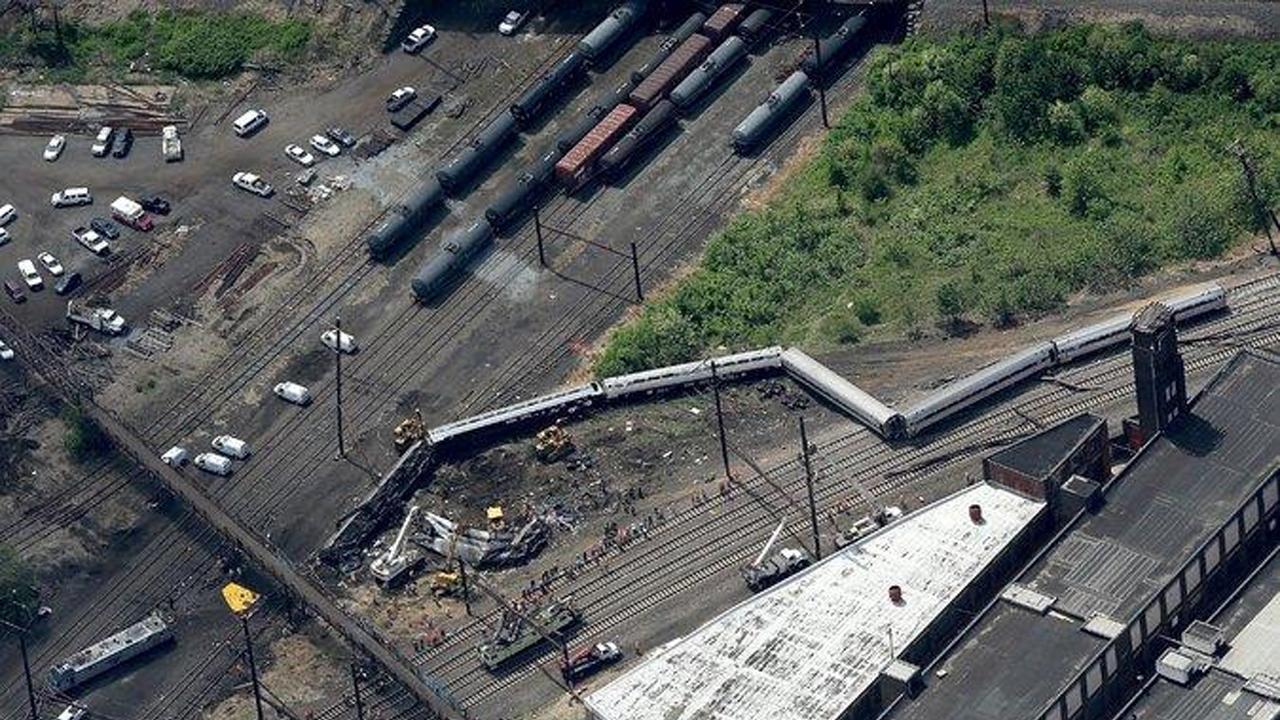 Amtrak 188 derailment Philadelphia