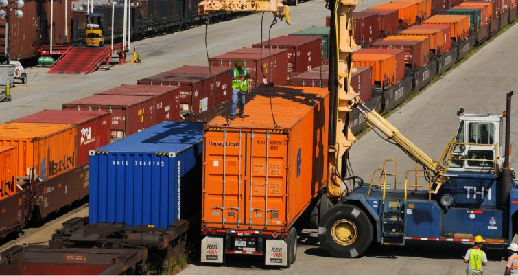 Port of New Orleans intermodal