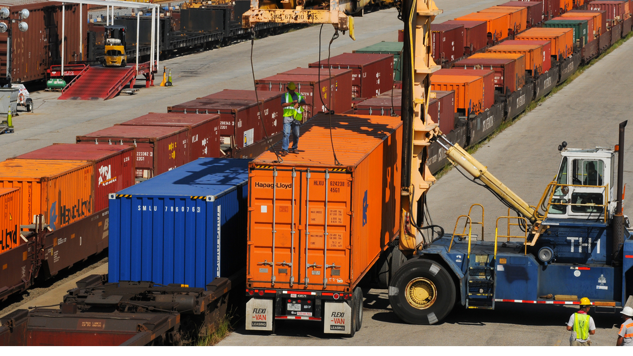 Port of New Orleans intermodal