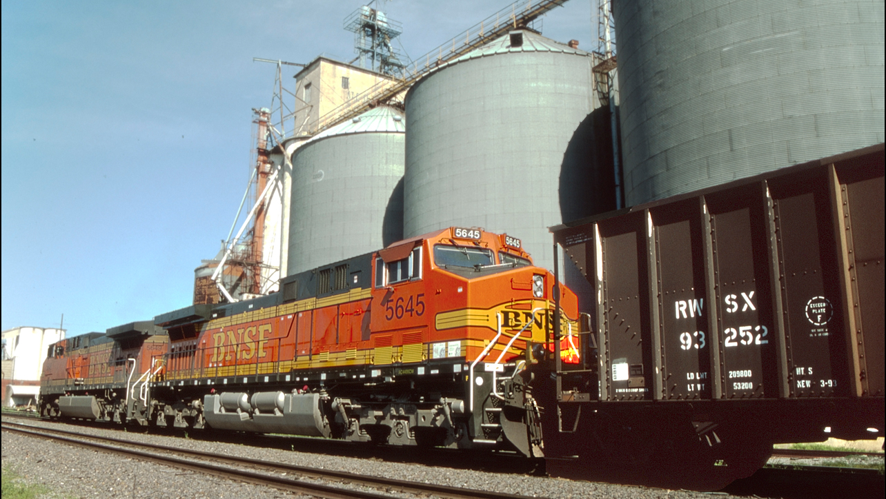 BNSF railroad coal transportation