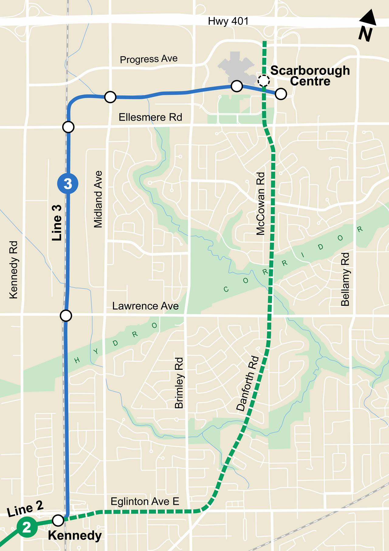 Bloor Danforth Subway Map.What S Next For Ttc Railway Age