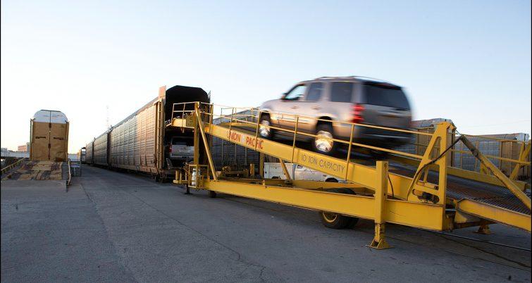 autorack loading