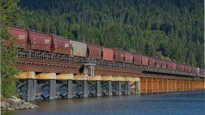 BNSF bridge Idaho