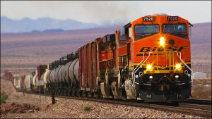 BNSF train California