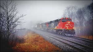 Canadian National train