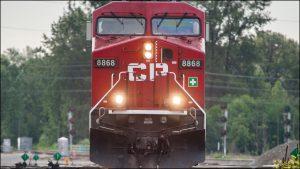 Canadian Pacific locomotive