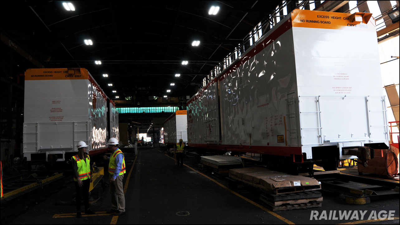 Greenbrier boxcars railcar manufacturing