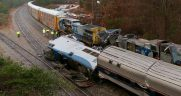 Amtrak 91 Cayce wreck with CSX