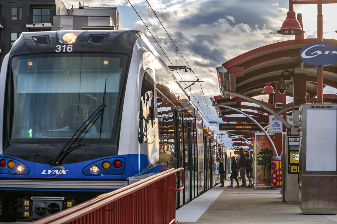 Tour Charlotte's LYNX Blue Line LRT Extension - Railway Age