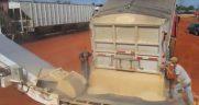 frac sand transload