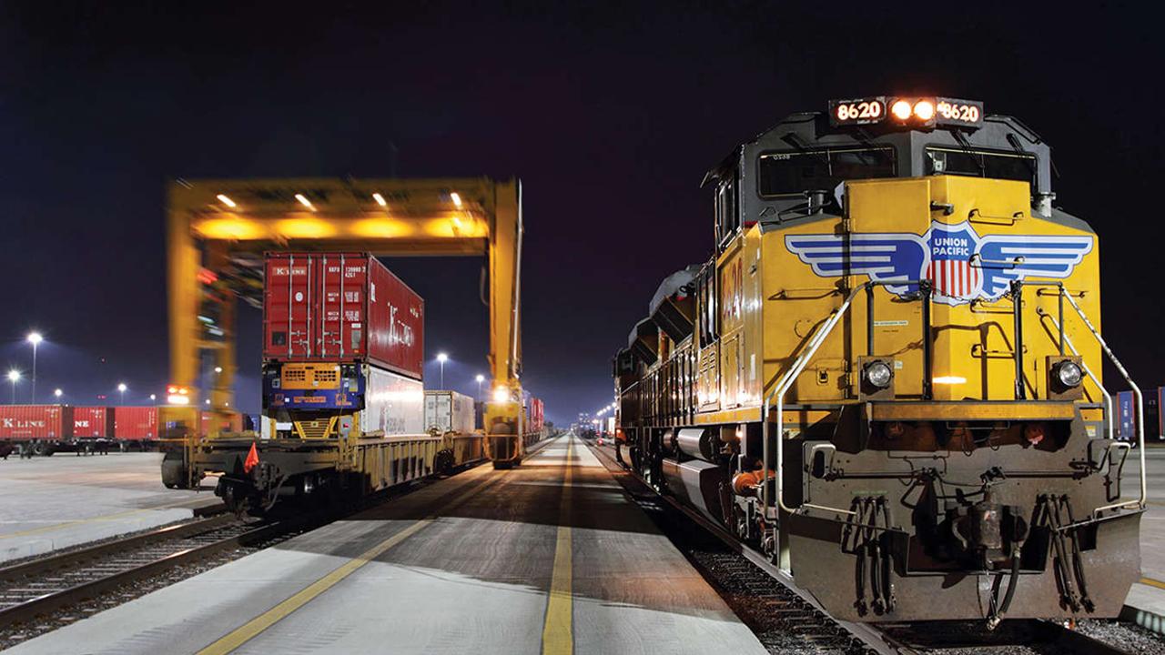 Union Pacific intermodal terminal