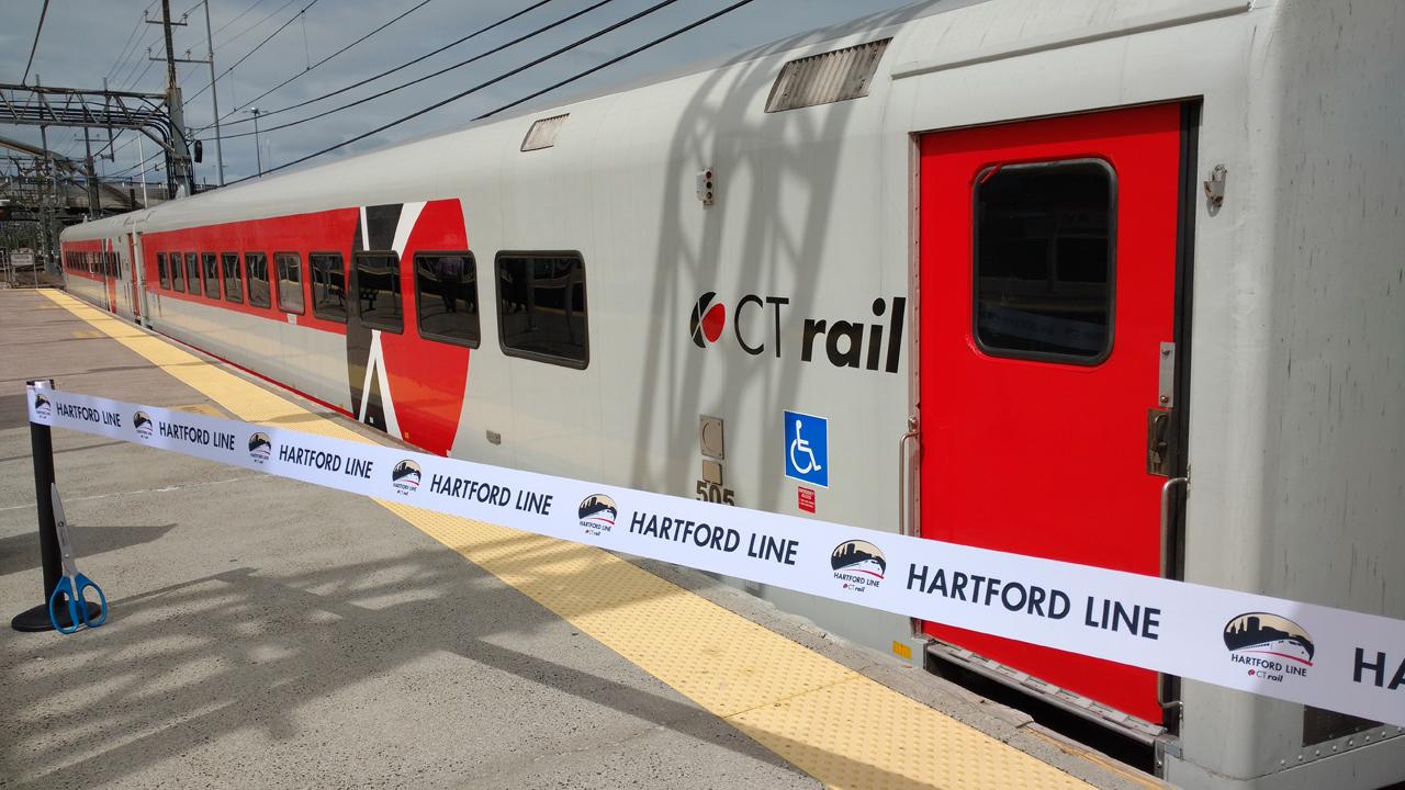 Hartford Line train