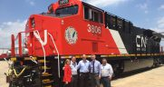 GE Transportation locomotive CN