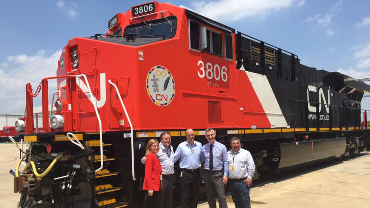 Ge Rolls Out First Of 200 Locomotives For Cn