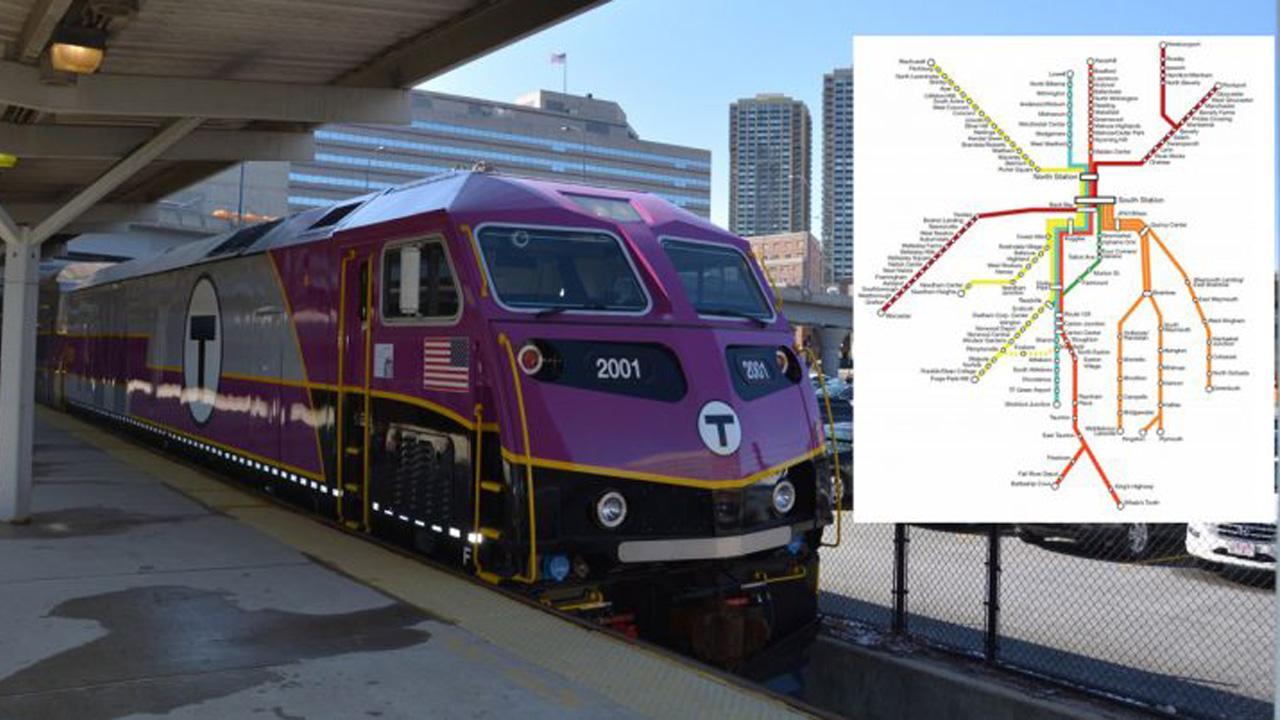 MBTA Boston tunnel