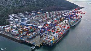 Port of Prince Rupert terminal