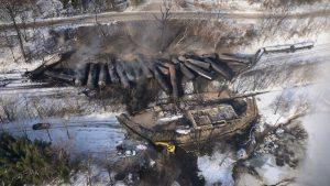 CSX derailment train