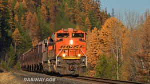 grain railroad Montana BNSF