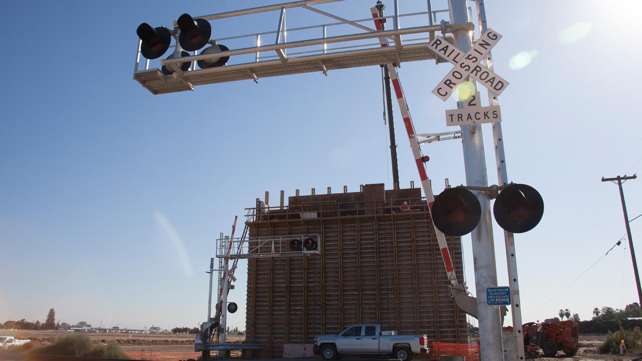 California high speed rail constuction