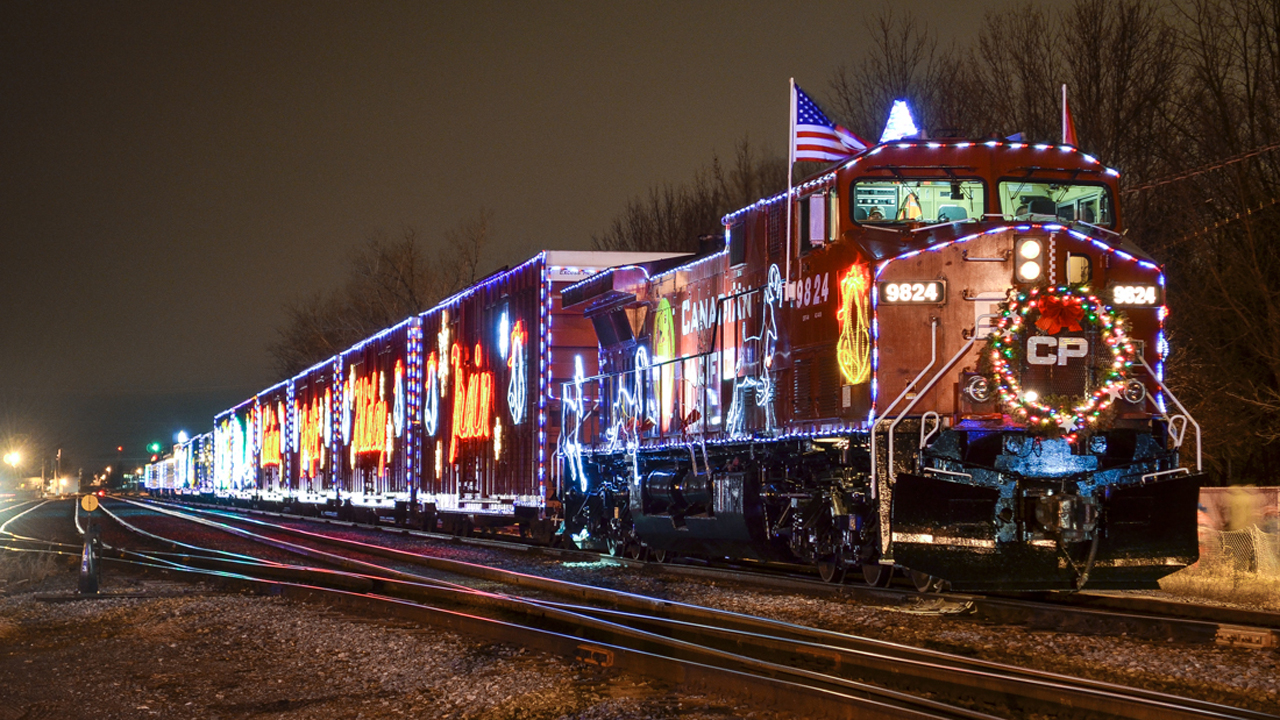 Cp Christmas Train Schedule 2020 20th CP Holiday Trains ready to roll   Railway Age