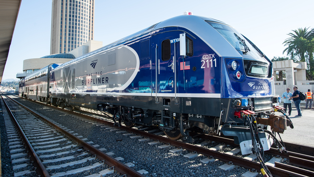 Surfliner Chargers Make Their Entrance Railway Age