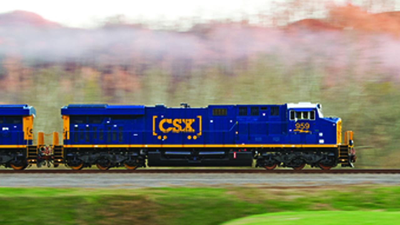 CSX Locomotives.