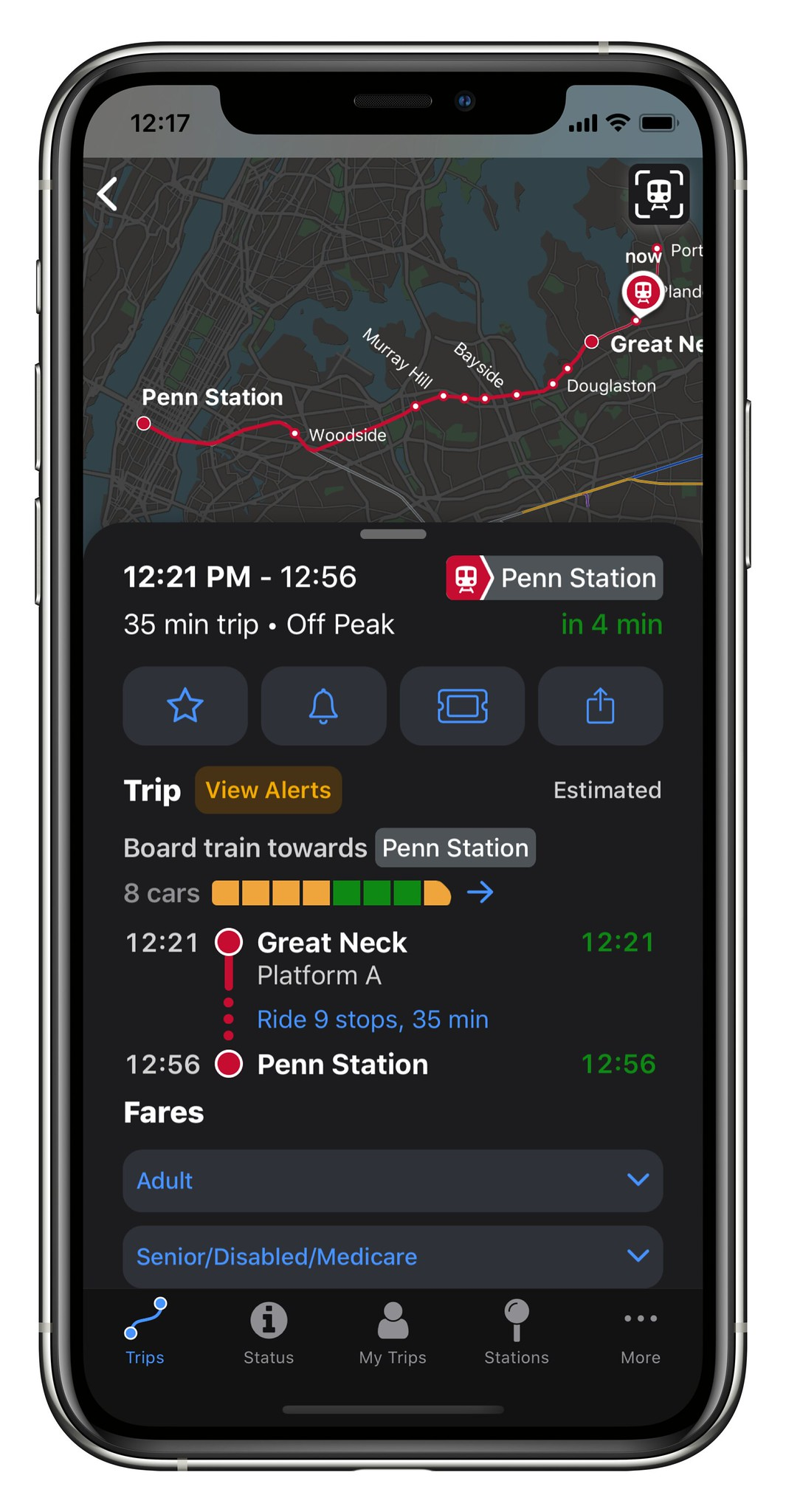 LIRR Updates its TrainTime App With Capacity Tracker