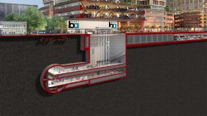 The project's $6.8 billion final phase will expand BART operations six miles through downtown San José to Santa Clara, and include one at-grade and three underground stations.
