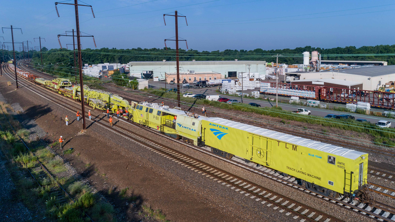 Amtrak's total federal investment request includes $1.242 billion for Northeast Corridor infrastructure (pictured).