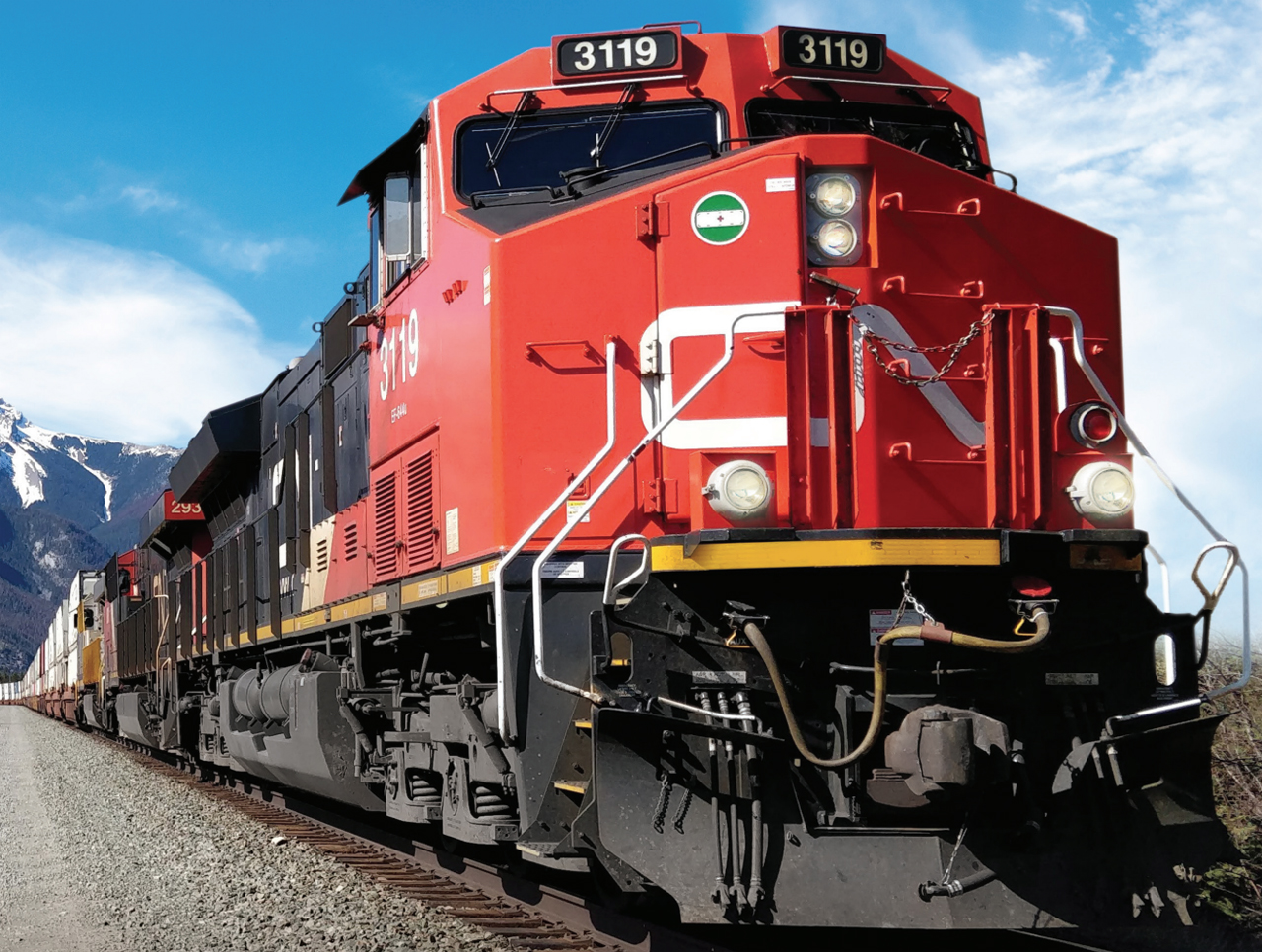 """""""As we look at the fourth quarter and beyond, we continue to see sequential improvements and momentum leading us to have a cautious optimism about the future,"""" CN President and CEO JJ Ruest said."""