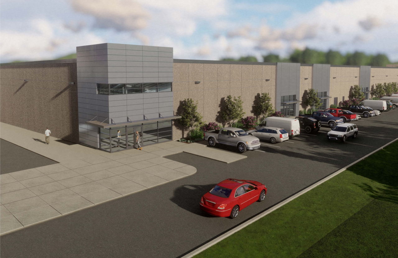 Wabtec will occupy more than 11,000 square feet of space in the first building (rendering above) of Neighborhood 91, a new hub in Pittsburgh connecting all components of the additive manufacturing and 3D-printing supply chain.