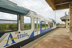 Under the Denton County Transportation Authority (Texas) agreement, partners Rio Grande Pacific Corp. and Stadler U.S., Inc. are taking over the remaining five years of a nine-year fixed-price contract, with a five-year extension option.