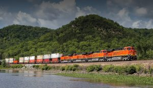 """""""Increased retail sales and inventory replenishments by retailers, along with increased e-commerce activity in the third quarter resulted in higher domestic intermodal volumes for the first nine months of 2020,"""" BNSF parent company Berkshire Hathaway noted in its recently filed third-quarter report. """"International intermodal volumes and automotive shipments remained low primarily attributable to the COVID-19 pandemic."""""""