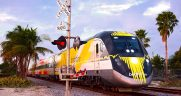 To link Disney Springs, near Orlando, Brightline would need to expand service from the Orlando International Airport to Tampa.
