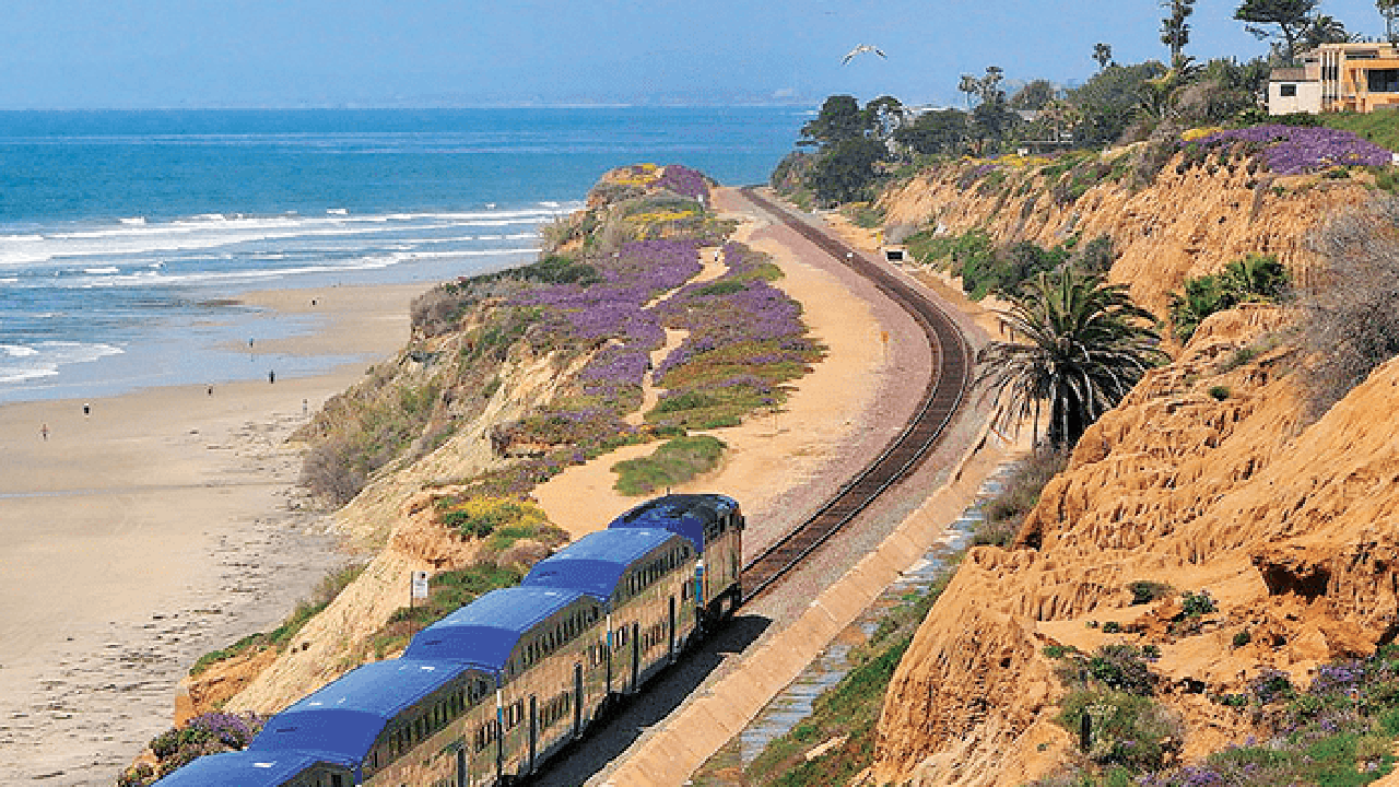The 351-mile Los Angeles – San Diego – San Luis Obispo (LOSSAN) rail corridor is the second busiest in the nation, moving about $1 billion in freight and more than 8 million Amtrak and regional/commuter rail (NCTD COASTER and Metrolink) riders in a typical year.