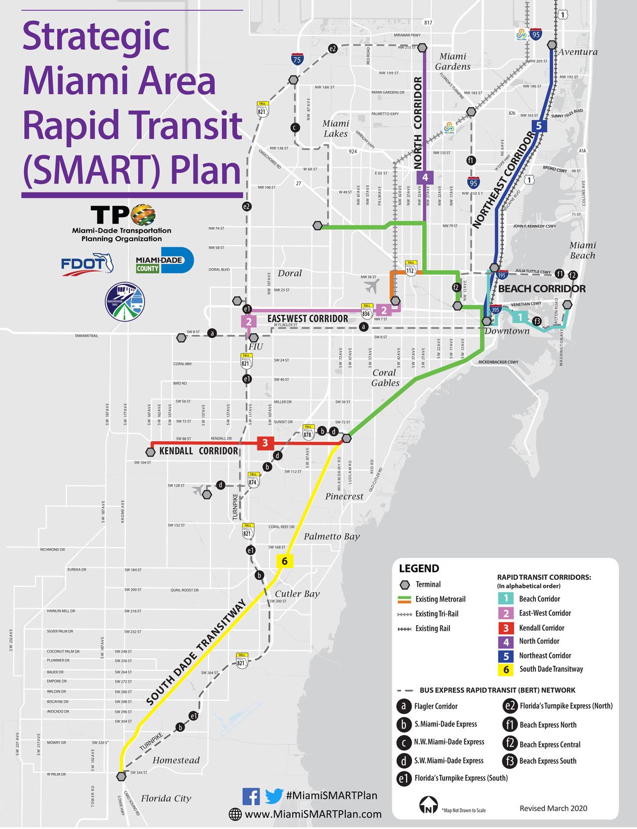 brightline talks continue for new miami-dade commuter rail