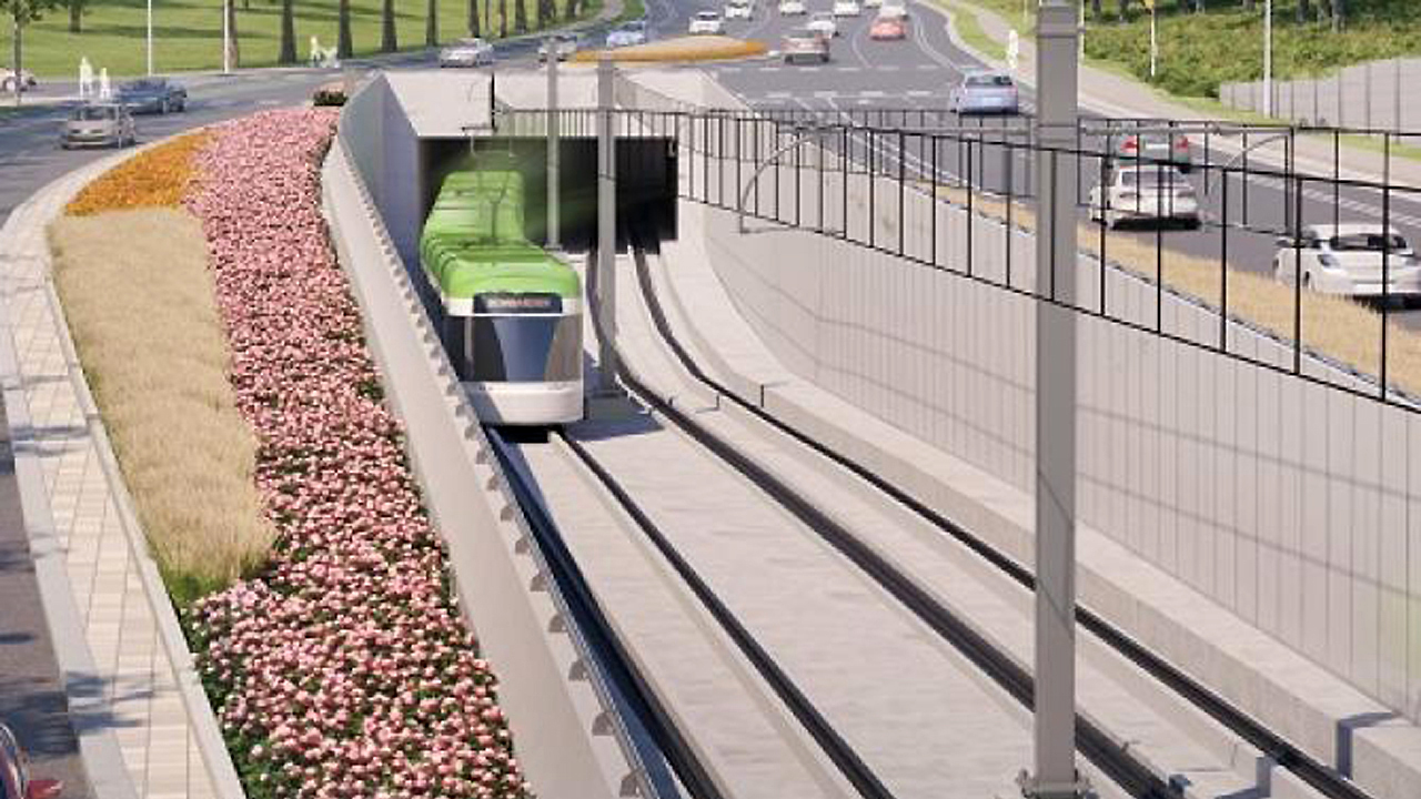 Stantec and Jacobs will provide program control services for four Toronto projects, including the Eglinton Crosstown West Extension (rendering shown).