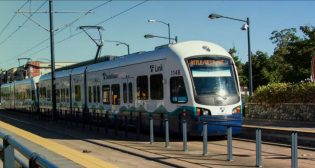 """""""Sound Transit is now at the national forefront of operating carbon-free transit,"""" Sound Transit CEO Peter Rogoff said."""