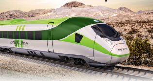 Brightline West plans to resume the sale of private activity bonds to fund its 168-mile California–Las Vegas high speed project, which it could receive from the federal government, or from the state governments of California and Nevada.