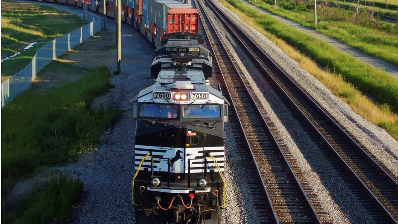 """""""We have set the stage to drive further efficiency and profitable growth in 2021 through our precision scheduled railroading operating plan, which will deliver long-term value for both our shareholders and customers,"""" Norfolk Southern Chairman, President and CEO James A. Squires said."""