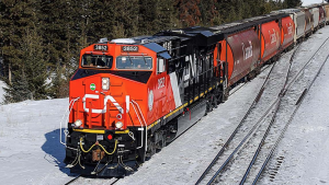 Revenues for fourth-quarter 2020 rose 2% to C$3.656 billion vs. the same period in 2019, which CN attributed to record shipments of Canadian grain, increased shipments of U.S. grain, higher international container traffic via the Port of Vancouver, and freight rate increases.