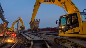 BNSF will put $2.41 billion toward maintenance, which includes nearly 11,000 miles of track surfacing and/or undercutting work, the replacement of 428 miles of rail and about 2.6 million ties, and rolling stock maintenance.