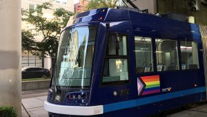 "The City of Portland, Ore., will receive $439,950 to replace Portland Streetcars' cloth seat coverings with ""easy-to-sanitize"" vinyl; educate riders with new message boards at stops; and hire public health-trained staff to ensure vehicles are properly sanitized and the system is adhering to public health guidelines."