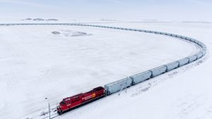 CP said it continues to invest in its grain fleet with additional hopper cars coming into service each week.
